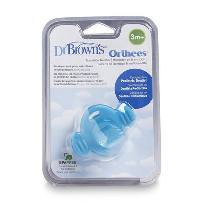 Handi Craft Dr. Brown's Orthees Transition Teether Pacifier