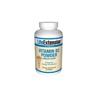 Life Extension, VITAMIN B2 30 GRAMS POWDER