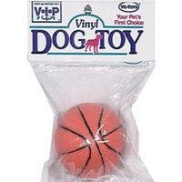 Votoys Vo-Toys Vinyl Basketball Dog Toy