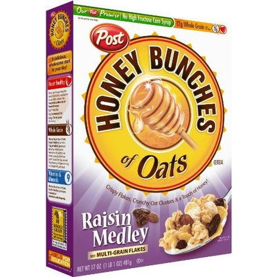 Honey Bunches of Oats Raisin Medley