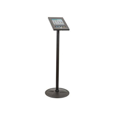 Monoprice Safe and Secure Floor Display Stand for all 9.7-inch iPad - Black