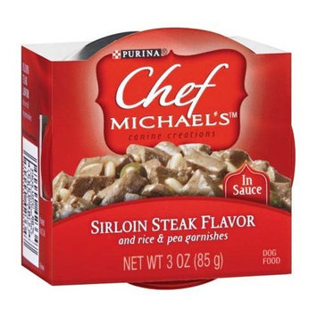 Purina Chef Michael's Canine Creations Dog Food - Sirloin Steak Flavor, 12 Pack