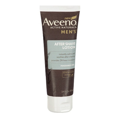 Aveeno Men's After Shave Lotion Fragrance Free