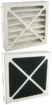 Filters-NOW RBCB11=RKE 14537 Sears-Kenmore Electrete Air Cleaner Dual Filter Cartridge