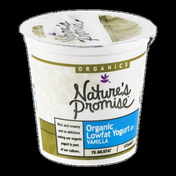 Nature's Promise Organics Yogurt Lowfat Organic Vanilla