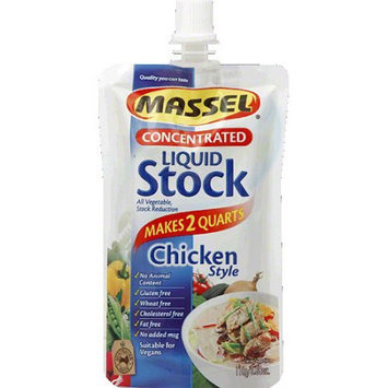 Massel Chicken Style Concentrated Liquid Stock, 3.88 oz, (Pack of 6)