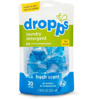 Dropps Sensitive Skin Laundry Detergent Pods, Fresh Scent