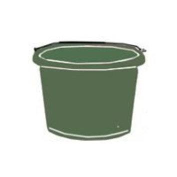 Fortiflex 2 Gallon Utility Bucket Hunter Green