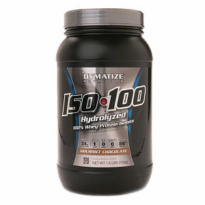 Dymatize Nutrition ISO-100 Hydrolyzed 100% Whey Protein Isolate