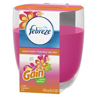 P&G Febreze Island Fresh with Gain Original Scent Air Freshener Candle 5.