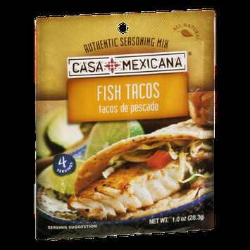 Casa Mexicana Seasoning Mix Fish Tacos