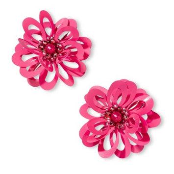 Fantasia Accessories Girls' 2-Pack Flower Clip - Pink