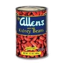 Beans BG10725 Beans Dark Red Kidney Bean - 1x25LB