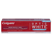 Colgate Optic White Anticavity Fluoride Toothpaste Enamel