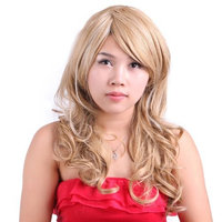 HDE Long Wavy Dirty Blonde Hairstyle Wig
