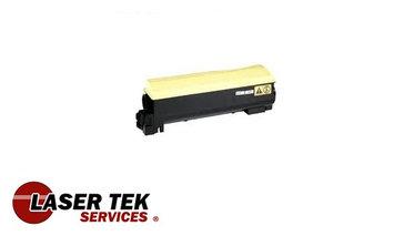 Laser Tek Services Yellow Compatible Toner Cartridge for the Kyocera TK-582 TK582 TK-582Y TK582Y FS-C5150DN