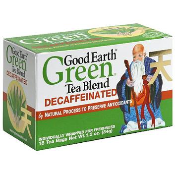 Good Earth Decaffeinated Green Tea Blend