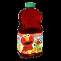 Apple & Eve 123 Sesame Street Elmo's No Sugar Added 100% Punch Juice