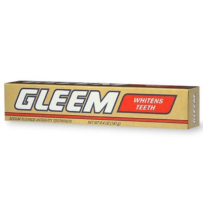 Gleem Sodium Fluoride Anticavity Toothpaste