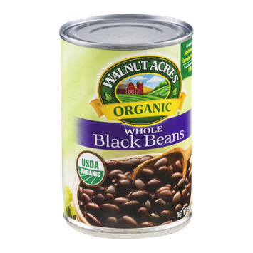 Walnut Acres Organic Whole Black Beans
