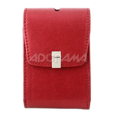 Canon Deluxe PSC-1050 Camera Case - Leather - Red