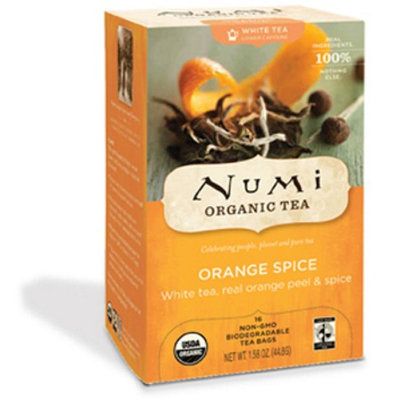 Numi Organic Tea Orange Spice White Tea with Hibiscus