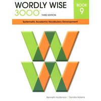 Wordly Wise 3000 Systematic Academic Vocabulary Development Book 9