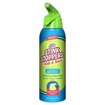 Odor-Eaters Stink Stoppers Kids & Teen Foot Odor Killing Spray - 4 oz