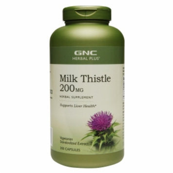 Gnc Herbal Plus Formula GNC Herbal Plus Milk Thistle 200 MG