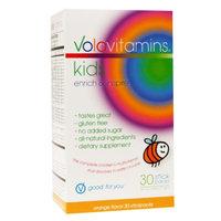 VoloVitamins Kids Multivitamin Stick Packs, Orange, 30 ea