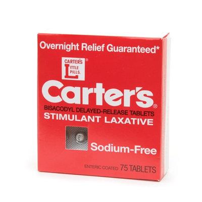 Carter's Stimulant Laxative 75's