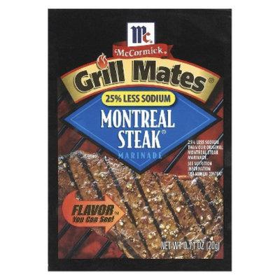 McCormick Grills Mates Less Sodium Montreal Steak Rub