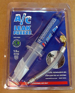 Universal Technologies A/C Leak Freeze AC Repair 00284 with 1/4 Adapter and Directions
