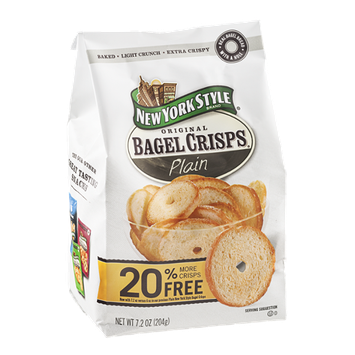 New York Style Original Bagel Crisps Plain