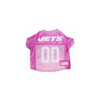 Doggie Nation.com New York Jets Pink Dog Jersey Medium