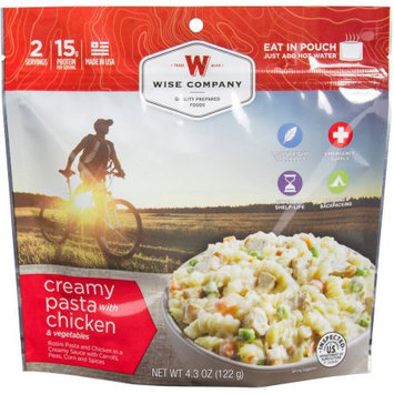Wise Company Inc Wise Company Creamy Pasta with Chicken & Vegetables Prepared Meal, 4.3 oz