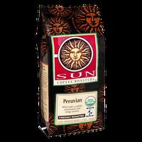 Sun Coffee Roasters Peruvian Freshly Roasted Coffee