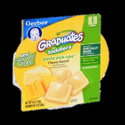 Gerber Graduates for Toddlers Pasta Pick-Ups Cheese Ravioli