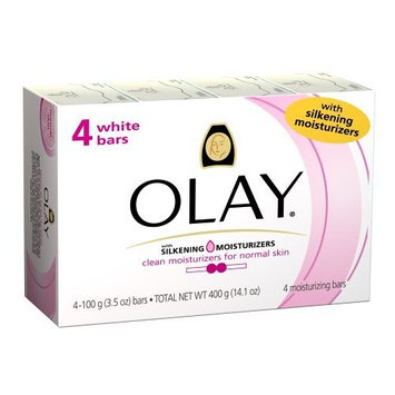 Olay White Bar with Silkening Moisturizer