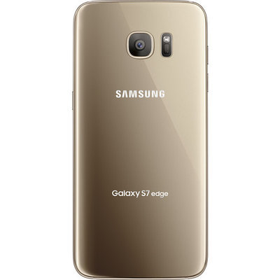 Samsung - Galaxy S7 edge 32GB - Gold Platinum (AT&T)