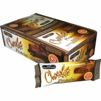 HealthSmart Chocolite Bar Triple Chocolate Fudge Case of 16 34 Grams