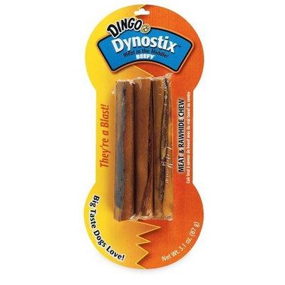 Dingo Dynostix Beefy Rawhide Treats, 3-Count (23850)