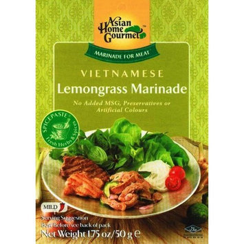 Asian Home Gourmet Vietnamese Barbecue Meat, Marinade, With Lemongrass, 1.75-Ounce Boxes (Pack of 12)