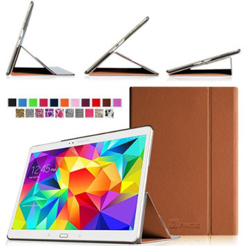 Fintie Ultra Slim Light Weight Stand Supports Three Viewing Angles Case for Samsung Galaxy Tab S 10.5 Tablet, Brown