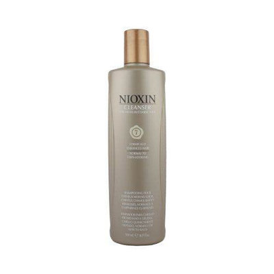 Nioxin Cleanser, System 7 (Medium to Coarse/Treated/Normal to Thin-Looking), 16.9 Ounce