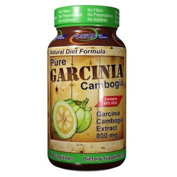Fusion Diet Systems Pure Garcinia Cambogia 800mg, Capsules