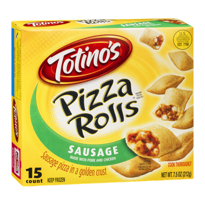 Totino's Pizza Rolls Sausage - 15 CT