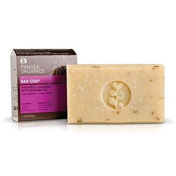 Pangea Organics Bar Soap, Pyrenees Lavender With Damiana Tea, 3.75-Ounce Box