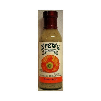 Drews All Natural Drew's All Natural Poppy Seed Dressing ( 12X12 Oz)