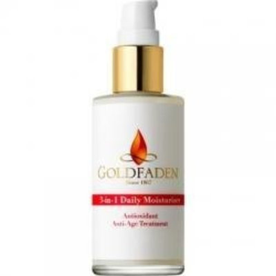 Goldfaden Skincare 3-in-1 Daily Moisturizer Anti-Age Treatment, 2 oz